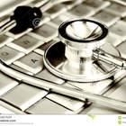 Tecnologia e medicina estetosc%c3%b3pio de prata sobre 4200887