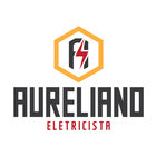 Logotipo aureliano eletricista vertical