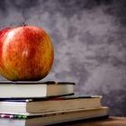 Apple on three books