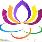Logotipo da flor de lotus 32055899