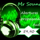 Sound waves and headphones green