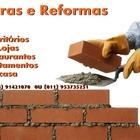 Construindo parede de tijolom d