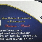 New Prime Uniformes e Estam...