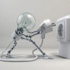 Energia eletrica lampada tomada