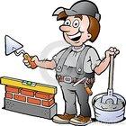 Ilustra%c3%a7%c3%a3o de um trabalhador manual feliz do pedreiro 29149325