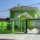 Sugestoes de cores fachadas casas