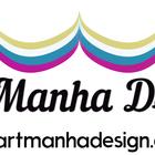 Logotipo artmanha branco