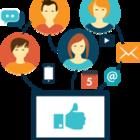 Facebook marketing icon