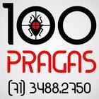 Logomarca salvador 100 pragas
