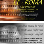 Le Roma Granthon Construçõe...