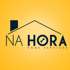 Na hora   home services   logo