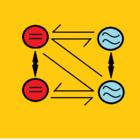 Inversor conversor simbolo