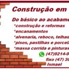 Pedreiro - Construção de Ca...