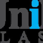Logo unik transparencia preto