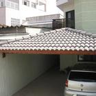 Cobertura com telha tegula