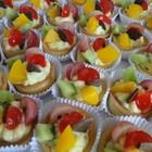 Tortinha com frutas