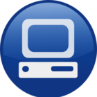 Blue computer desktop md