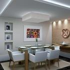 Sala de jantar decorada em gesso elegance gesso