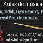 Aulas de Música em Londrina...
