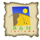 Logo r m turismo
