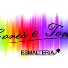 Logotipo esmalteria   cores e tons
