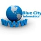Logo blue city