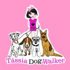 T%c3%a1ssia dog walker fundo colorido