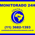 Layout   placa   monitorado   24h   central de monitoramento