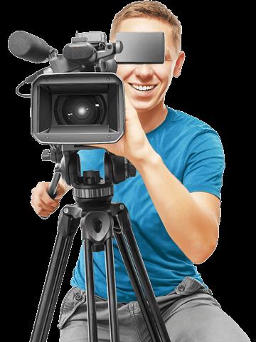 Profissionais de Gravação de Vídeos